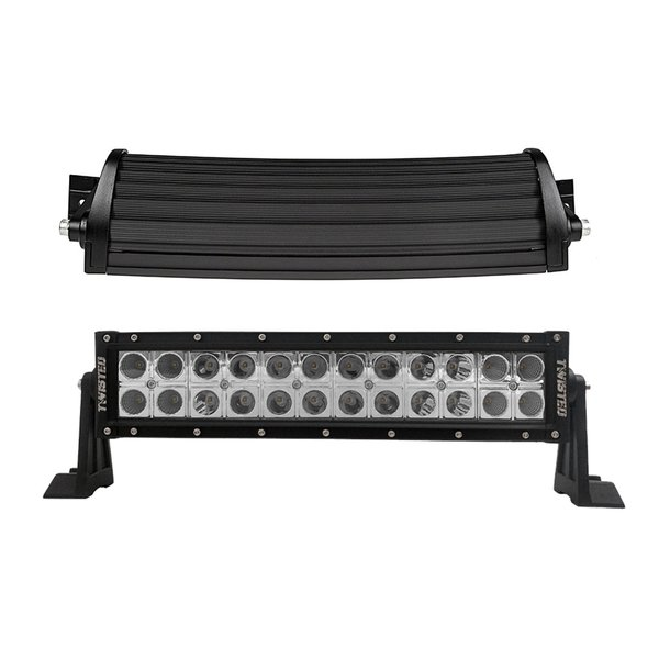 Twisted 12 inch Pro Series Curved LED Light Bar