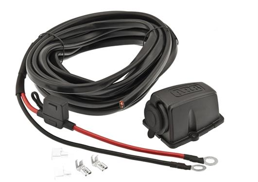 ARB Fridge / Freezer Wiring Kit & Threaded Socket