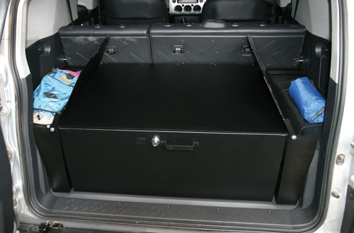 Tuffy FJ Cruiser Security Cargo Drawer