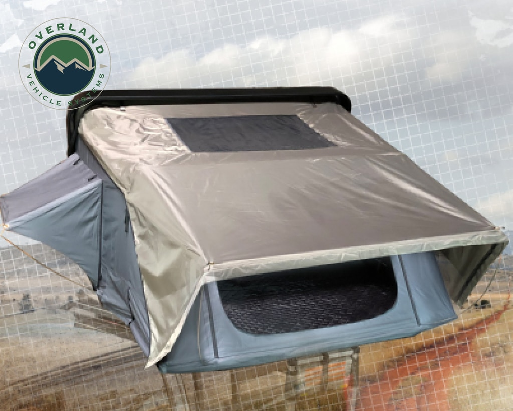 Overland Vehicle Systems Bushveld Hard Shell Roof Top Tent