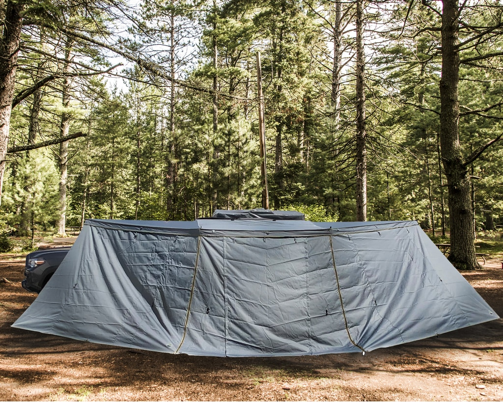 Overland Vehicle Systems Awning Side Wall For Nomadic 180 Shelter