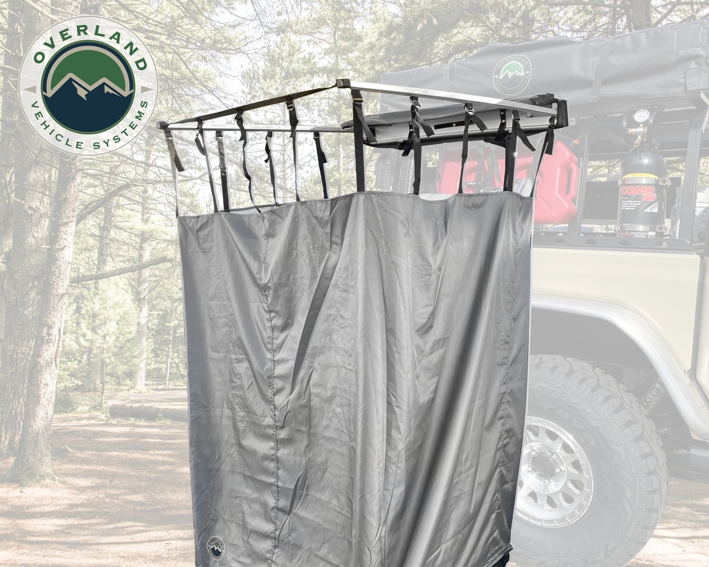 Overland Vehicle Systems Nomadic Quick Deploying Shower