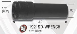 Gorilla Small Diameter Lug Wrench