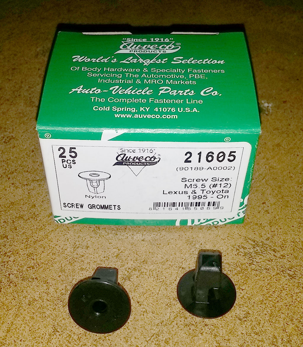 Au-ve-co Fender Liner Grommet