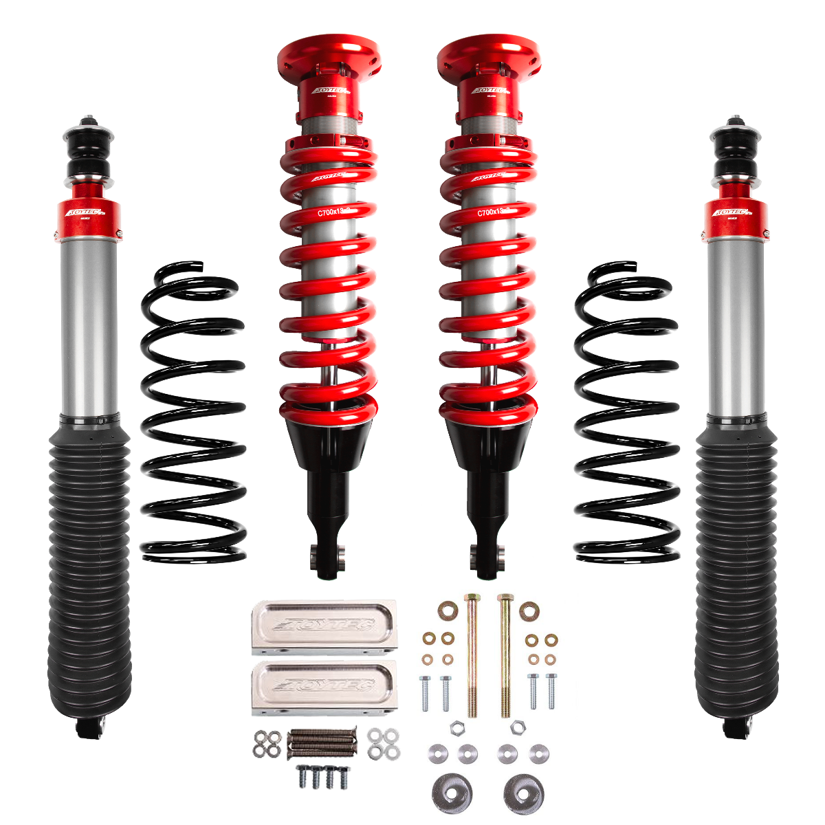Toytec Boss Aluma Series 2.5 Performance Suspension System (07+FJ Cruiser)