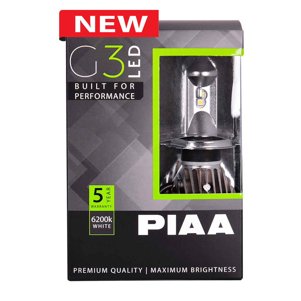 PIAA H4 G3 LED Bulbs Twin Pack