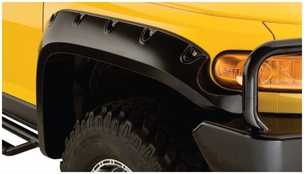 Bushwacker Pocket Style Fender Flares 2007+ FJ Cruiser - FRONT PAIR ONLY