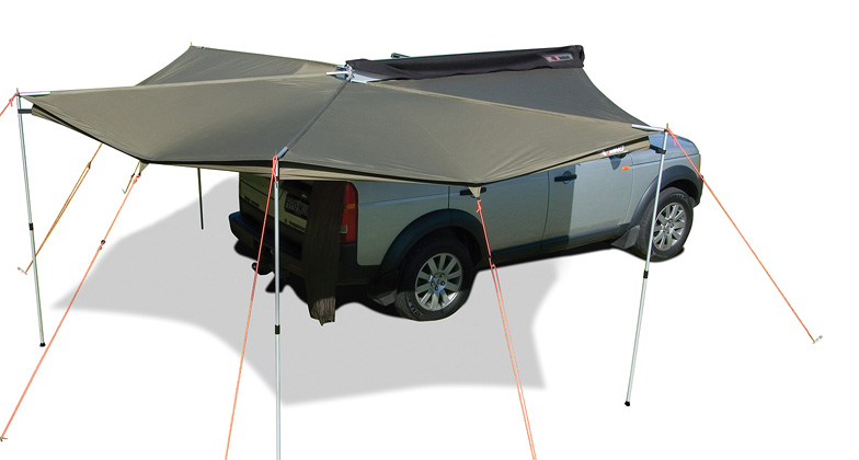 Rhino-Rack Foxwing Awning Right Side Mounting