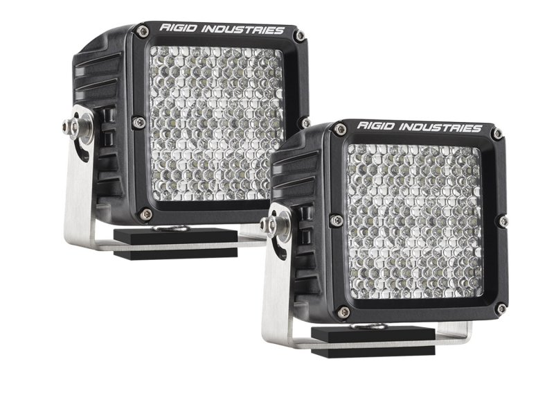 Rigid Industries D2 XL Specter Diffused Pair
