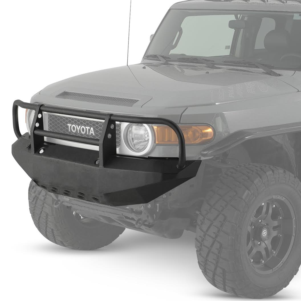 Warrior Products FJ Cruiser bumper with Brush Guard