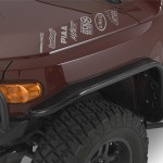 Warrior Products 2007-2014 Toyota FJ Cruiser Front Tube Fender Flares (pair)