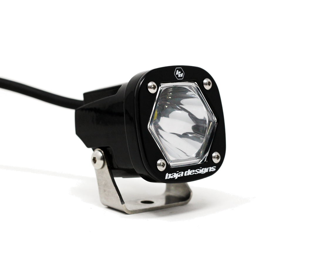S1 Spot LED Light with Mounting Bracket Single Baja Designs