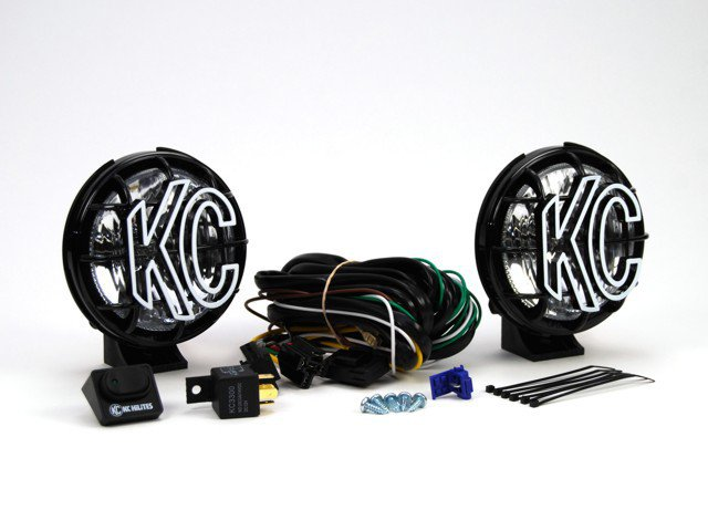 "KC HiLiTES Apollo Pro; 5"" Spread Poly 55w (pair)"