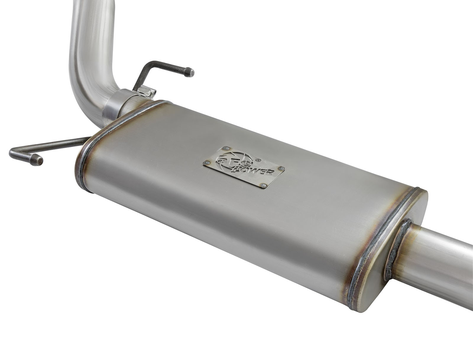 "aFe POWER Rebel Series 3"" Stainless Steel Cat-Back Exhaust System BLACK TIP"