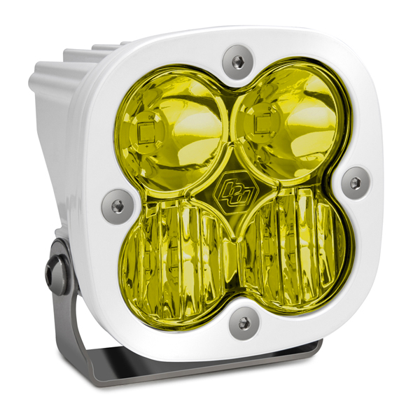 LED Light Pod White Amber Lens Driving/Combo Pattern Squadron Pro Baja Designs