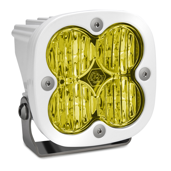 LED Light Pod White Amber Lens Wide Cornering Pattern Squadron Pro Baja Designs