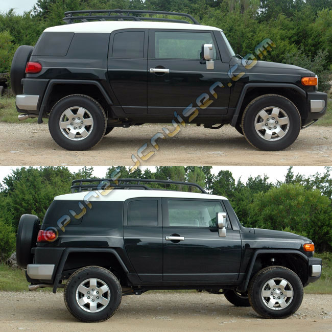 "Tuff Country 3"" FJ Cruiser Lift Kit - 2007-2012 4wd"