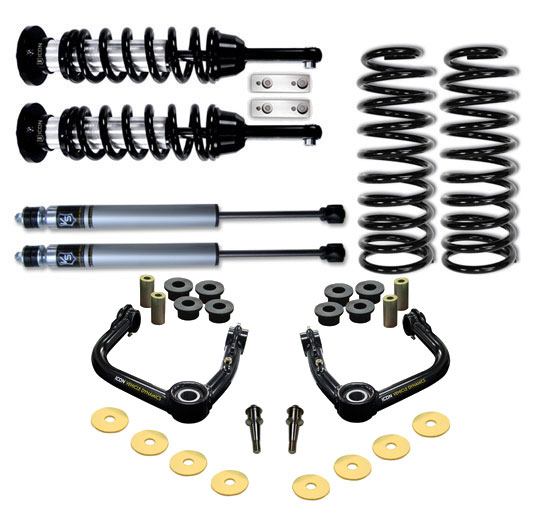 2007 - 2009 FJ Cruiser Suspension System - Stage 2 w/Tubular UCA