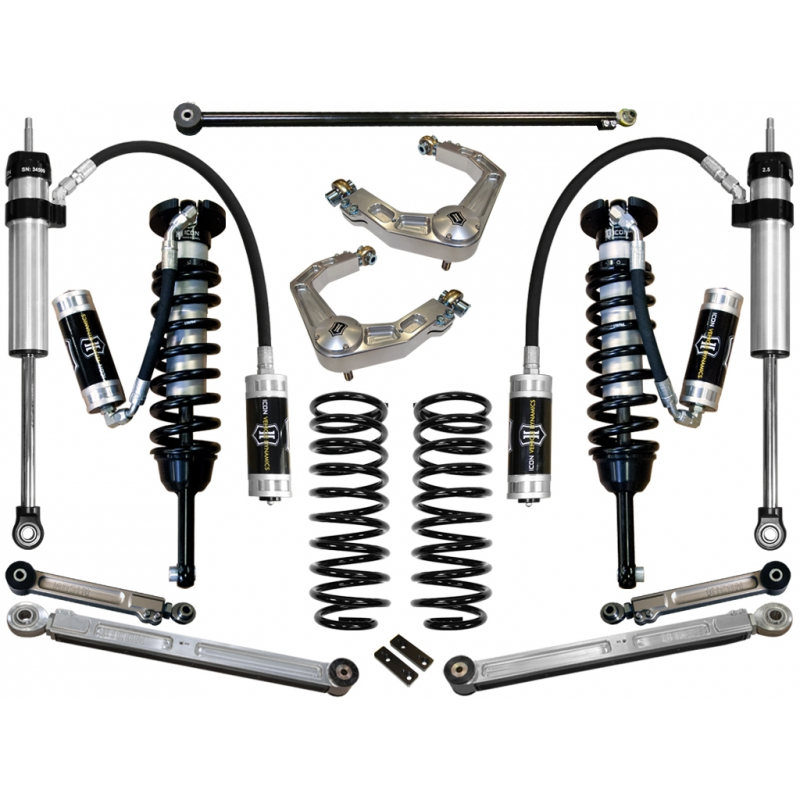 2007 - 2009 FJ Cruiser Suspension System - Stage 6