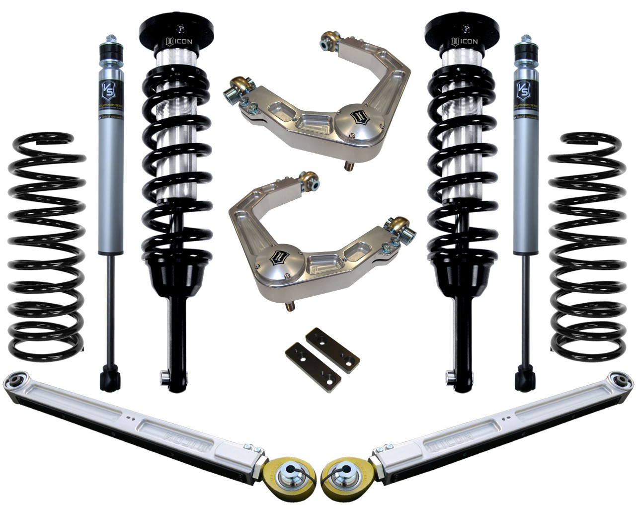 2010 - 2014 FJ Cruiser Suspension System - Stage 3