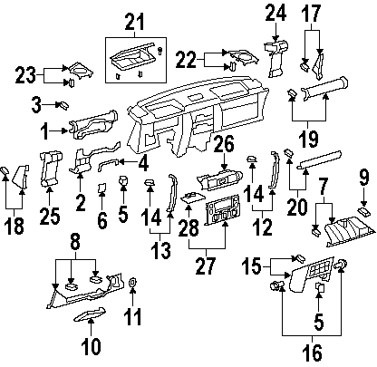 1988 isuzu trooper engine diagram fj cruiser oem accessories from pure fj cruiser  fj cruiser oem accessories from pure fj cruiser