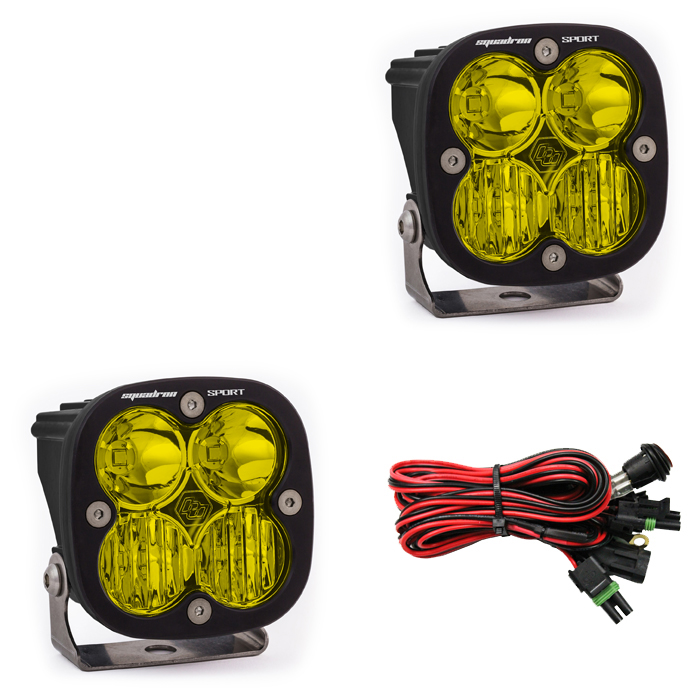 Squadron Sport, Pair Amber LED Driving/Combo
