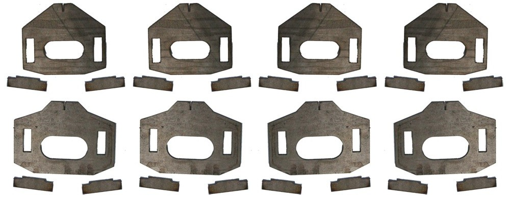 Total Chaos Lower Control Arm Cam Tab Gussets 2010-2014 FJ Cruiser