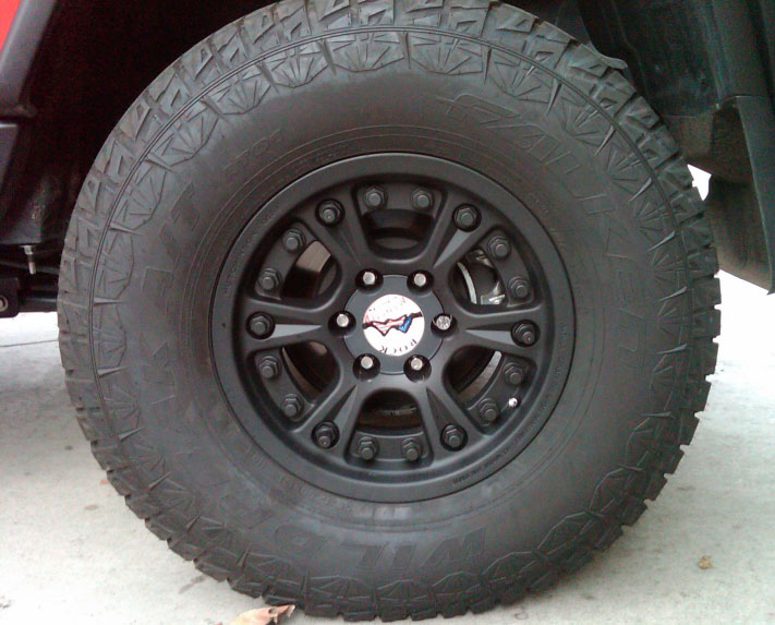 Rock Monster Street Legal BeadLocks for FJ Cruiser