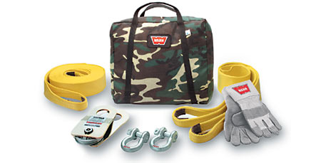 Warn Medium-Duty Winching Acc Kit (Camo)