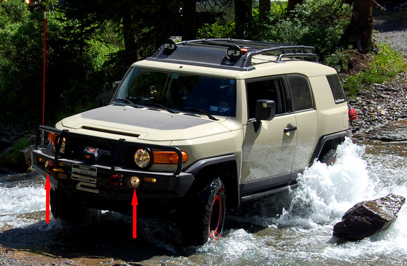 Toyota Fog Light Kit for ARB Bar Bumper