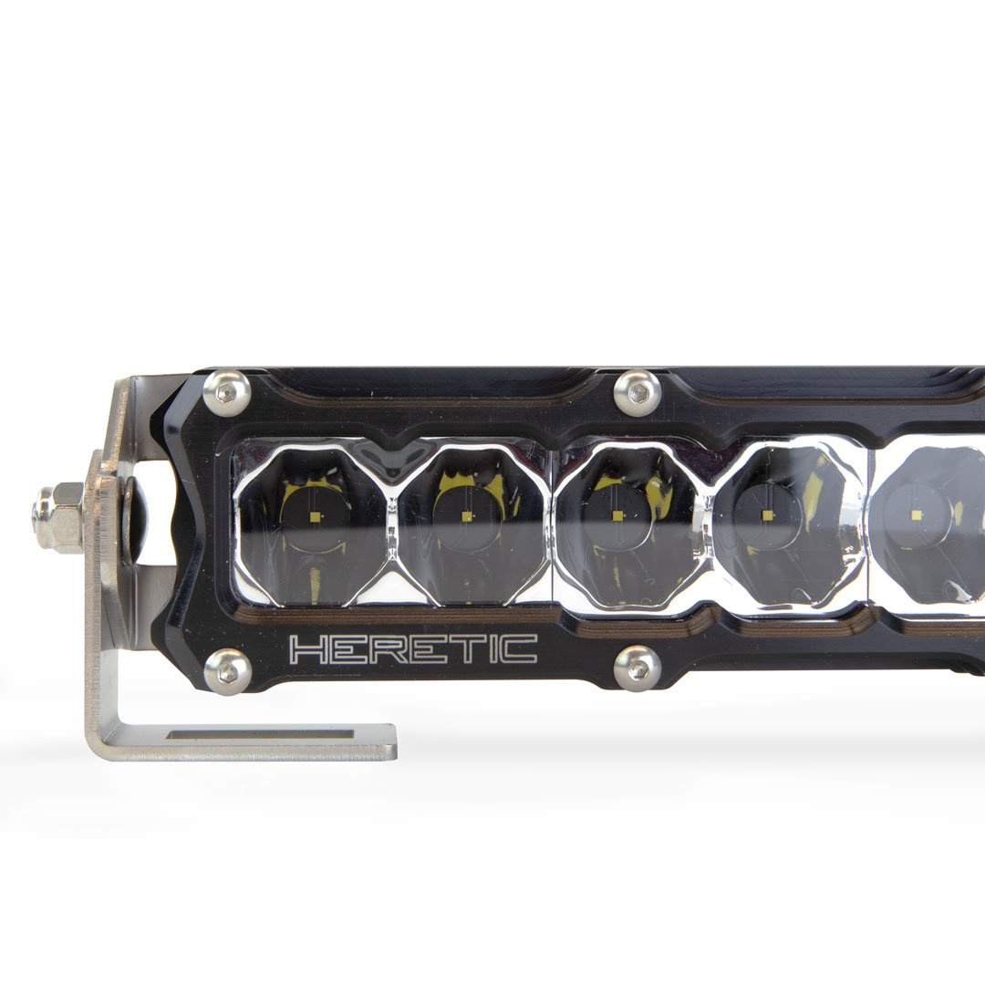 "Heretic Studio LED Light Bar 6"" Billet"