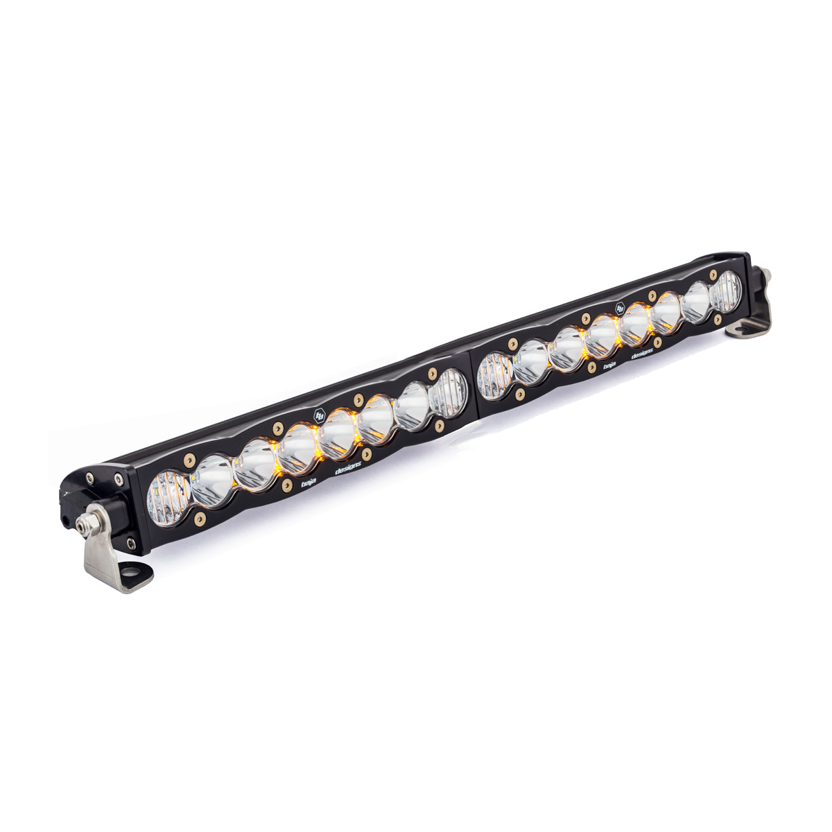20 Inch LED Light Bar Single Straight Driving Combo Pattern S8 Series Baja Designs