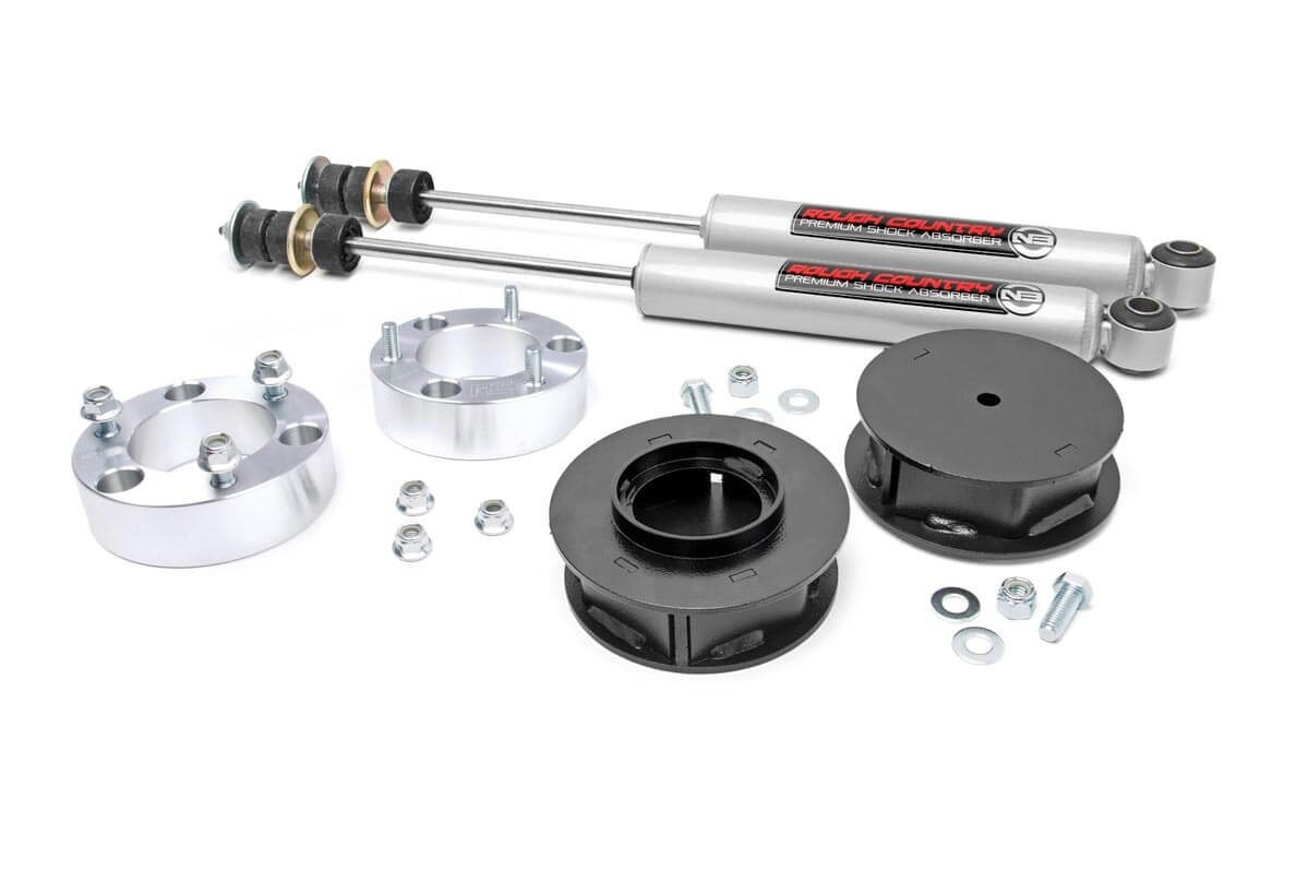 "07-14 4wd Toyota FJ Cruiser 3"" Suspension"
