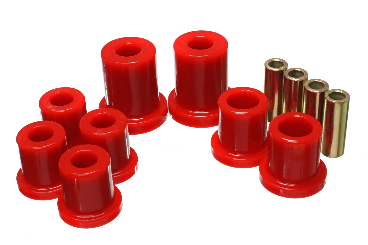 Front Control Arm Bushing Set Red - FJ Cruiser 07-09