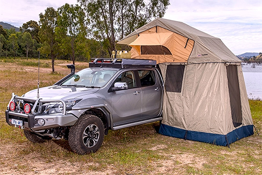 ARB Series III Simpson Rooftop Tent and Annex Combo & Tents : Pure FJ Cruiser Accessories Parts and Accessories for ...