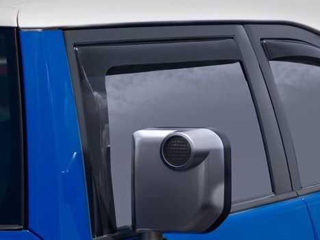WeatherTech FJ Cruiser Side Window Deflectors - Front Set
