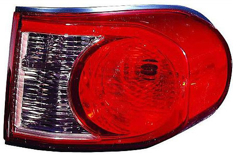 Tail Light Assembly - 2007-2011 Toyota FJ Cruiser - RIGHT