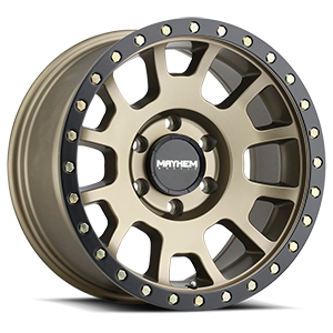 Mayhem Wheels Scout 8302 Gold w/ Black Lip