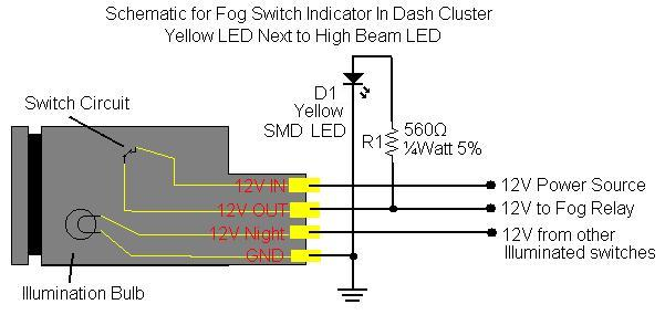 84160 04010 SCHEMATIC fj cruiser fog light switch conversion [fj fogsw] $74 00 pure Fog Light Wiring Diagram Simple at gsmx.co