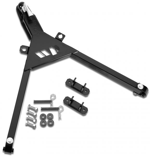 Warrior Products Universal Fixed Tow Bar (includes #861 Mounting Brackets)