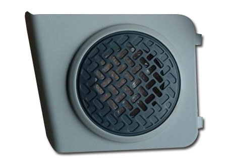 Speaker Grille Cover - Left Rear - Click Image to Close