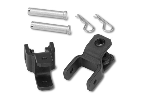 "Warrior Products Universal Tow Bar D-ring Adapter Brackets 7/8"" Pin (pair)"