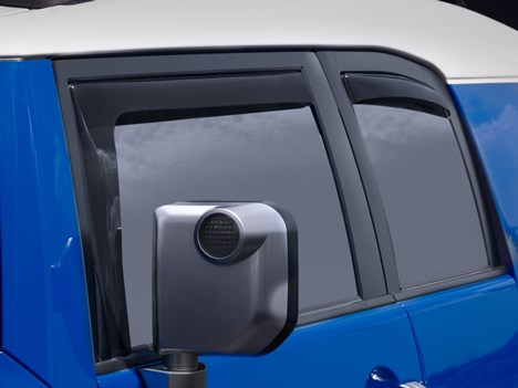 WeatherTech FJ Cruiser Side Window Deflectors - Front & Rear Set