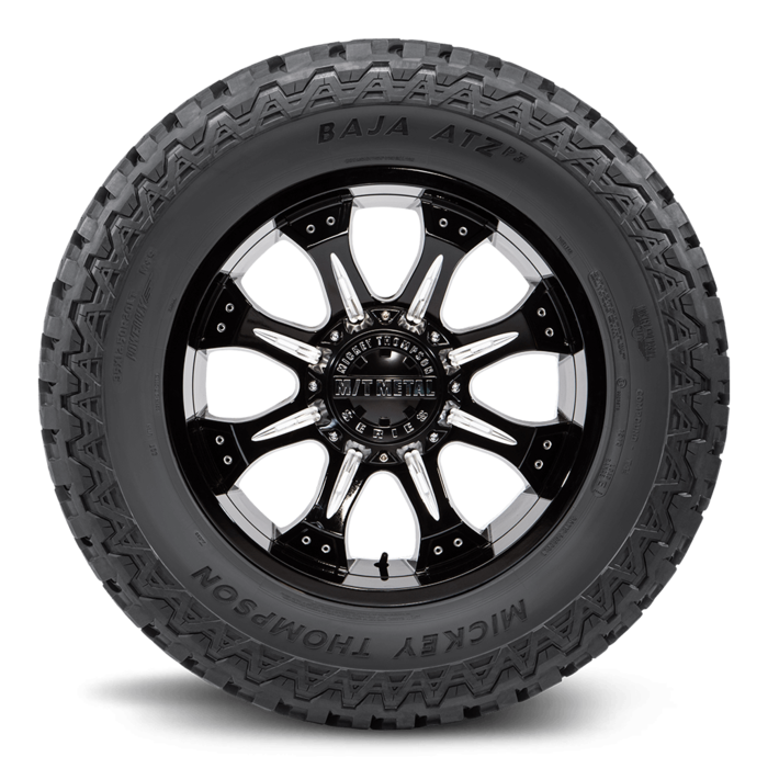 Baja ATZ P3 18.0 Inch LT275/70R18 Black Sidewall Light Truck Radial Tire Mickey Thompson
