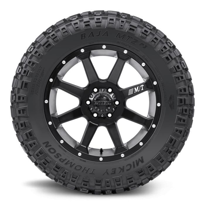 Baja MTZP3 17.0 Inch LT295/70R17 Outlined White Letter Light Truck Radial Tire Mickey Thompson
