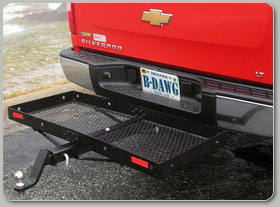 B-Dawg Towing Drone Steel Rimmed Cargo Carrier