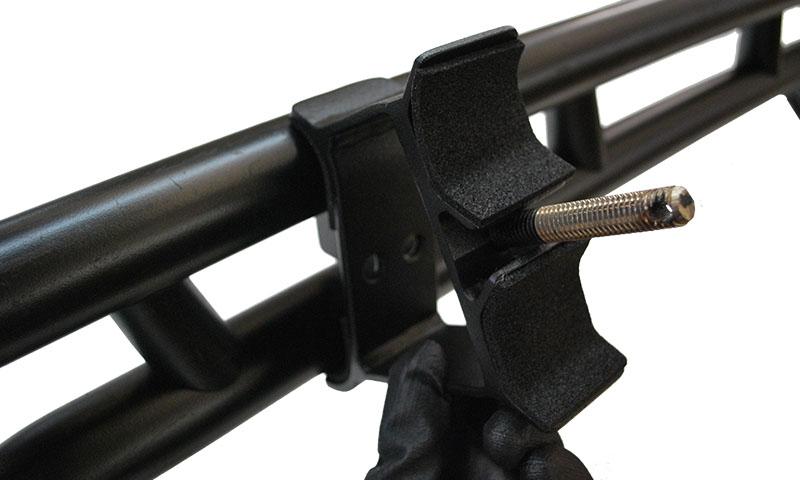 Baja Rack Axe Amp Shovel Mount For Toyota Fj Factory Rack
