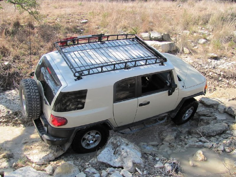 Fj Cruiser Roof Racks : Baja rack pure fj cruiser accessories parts and