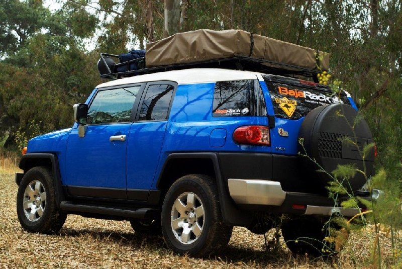 Baja Rack FJ Cruiser Expedition Rack for Roof Top Tents & Baja Rack FJ Cruiser Expedition Rack for Roof Top Tents Baja Rack ...