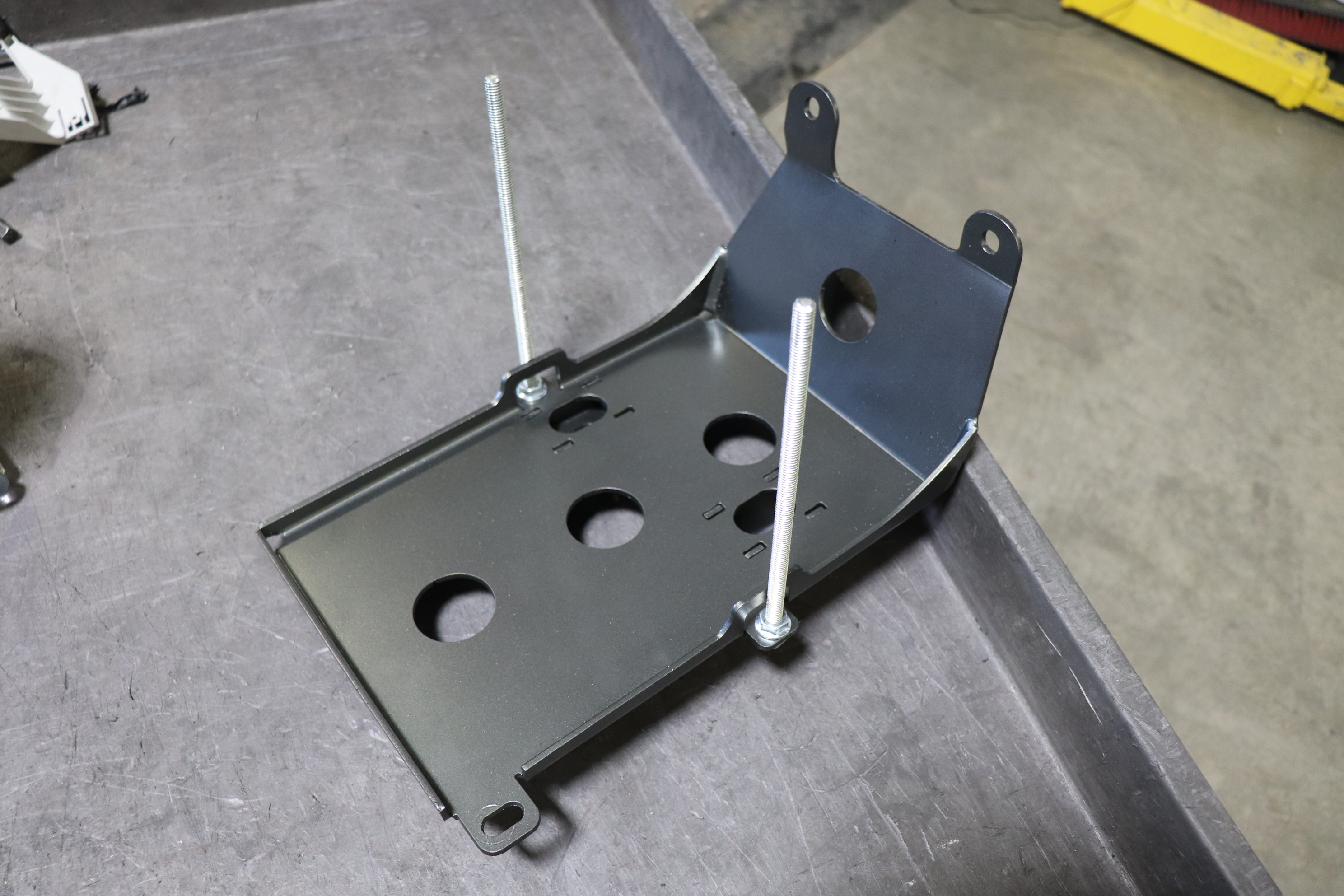 C4 Fab Spare Battery Tray (passenger side) 2010+ FJ Cruiser